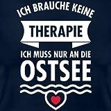Ostsee statt Therapie Spruch Frauen T-Shirt von Spreadshirt® - 2