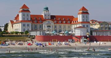 Kurhaus Travel Charme Ostseebad Binz auf der Insel Rügen