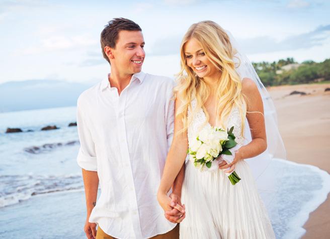 Heiraten am göhrener Strand auf der Insel Rügen